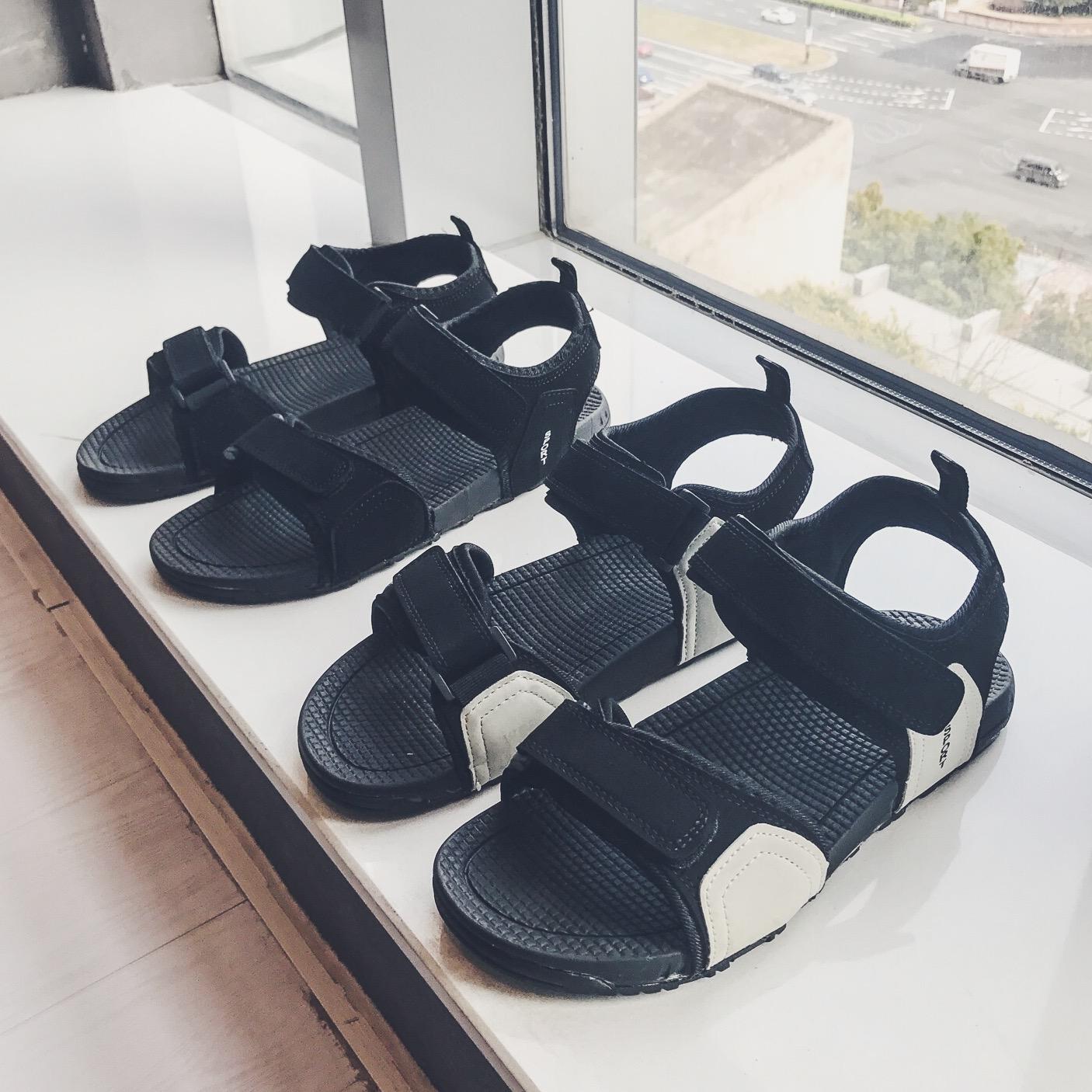 港仔文艺2019新款夏季韩版罗马鞋港风拖鞋沙滩凉鞋611-F15-P45