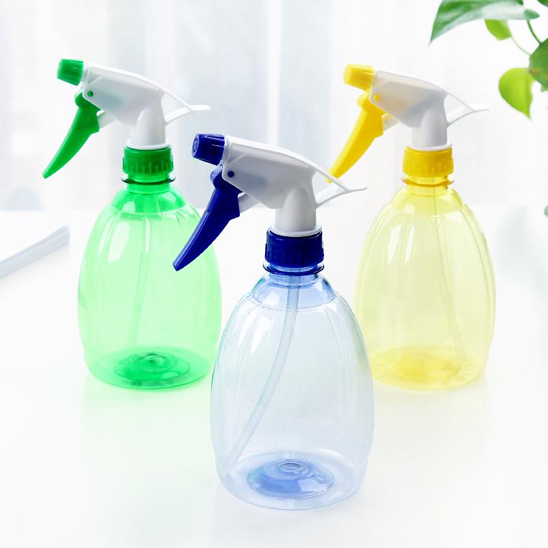 家庭用の花に水をかけるガーデニングのじょうろ手動透明な小型のスプレーポット
