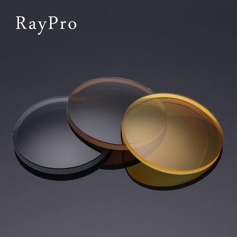 Raypro CR39 anti radiation myopia film dyed polarizing lens anti computer blue lens resin gd-002