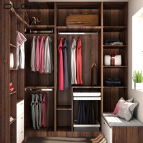 Im happy to customize the whole house custom overall wardrobe cloakroom with modern minimalist walk-in wardrobe privilege deposit