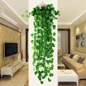 仿真藤条室内绿植海棠装饰壁挂花藤