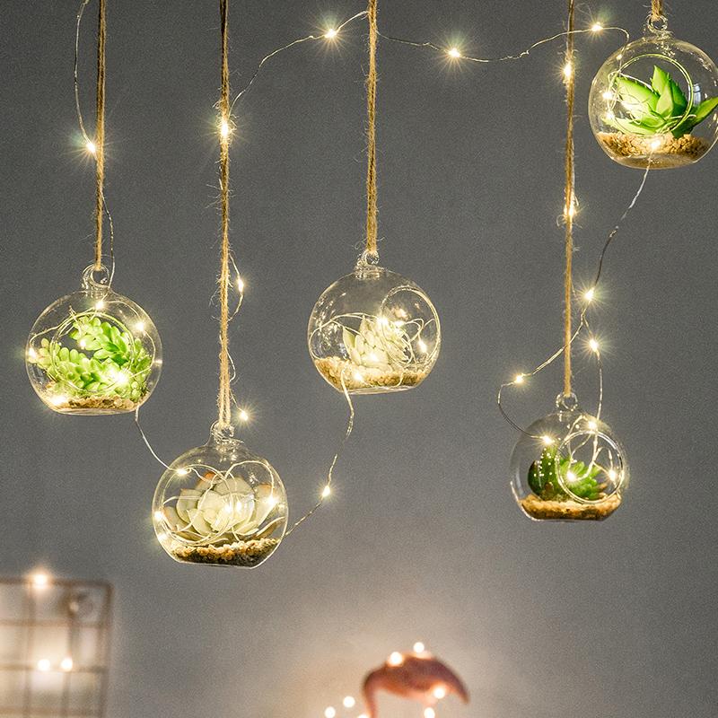 创意植物幼儿园天花板空中店铺悬挂