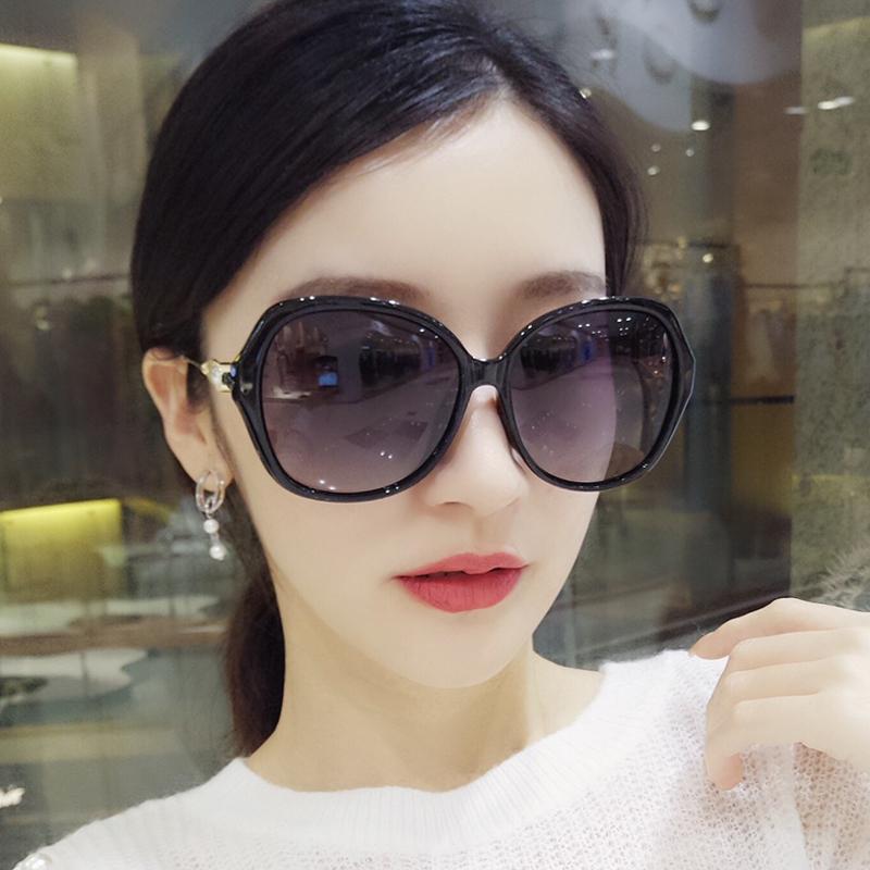 2019新款大框偏光女镶钻韩版太阳镜