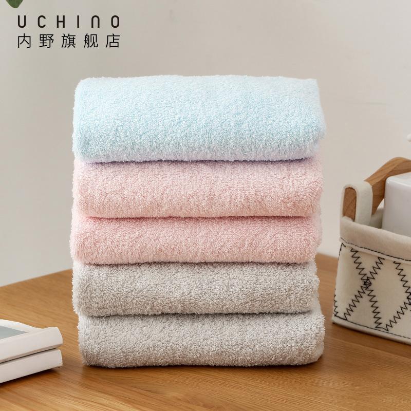 uchino内野遇见系列面巾纯棉毛巾男女洗脸家用成-纯棉毛巾(uchino内野旗舰店仅售24.9元)