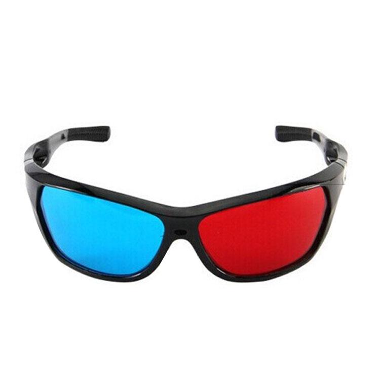 3D красный и синий очки трехмерный 3D очки фильм очки смотреть 3D фильм 3D телевидение компьютер