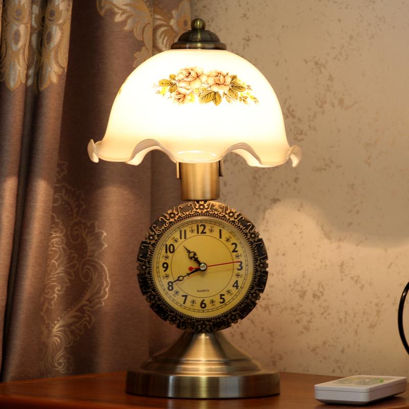 欧式仿古卧室床头灯客厅书房灯台灯10-20新券