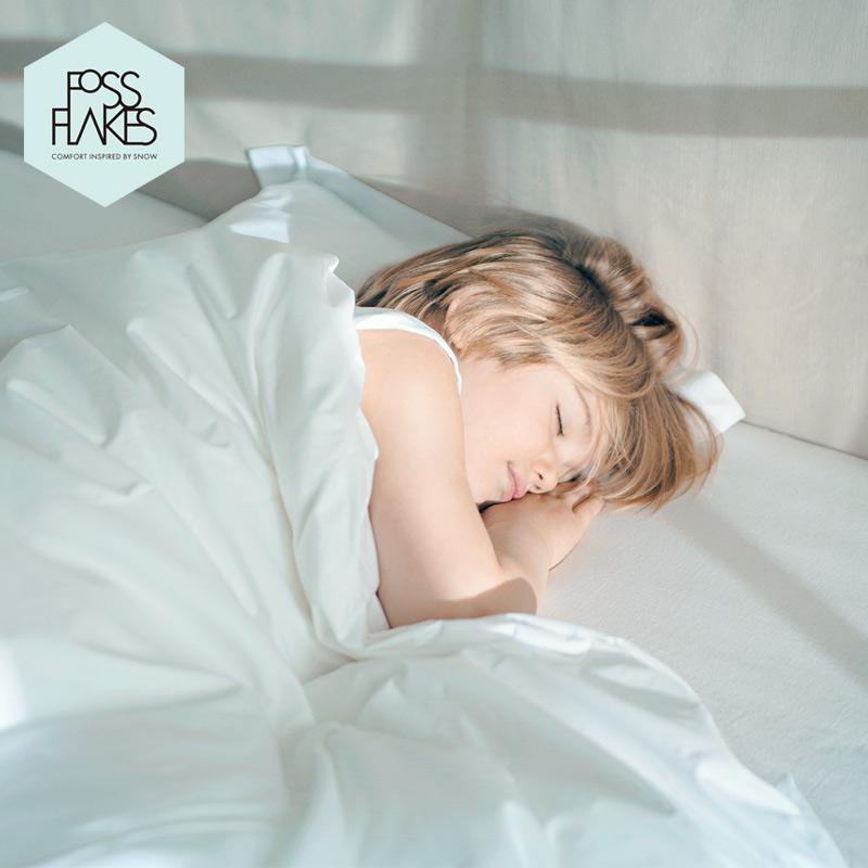 FOSSFLAKES进口 水洗无甲醛夏被 优质儿童被子婴儿被全棉被芯冬被