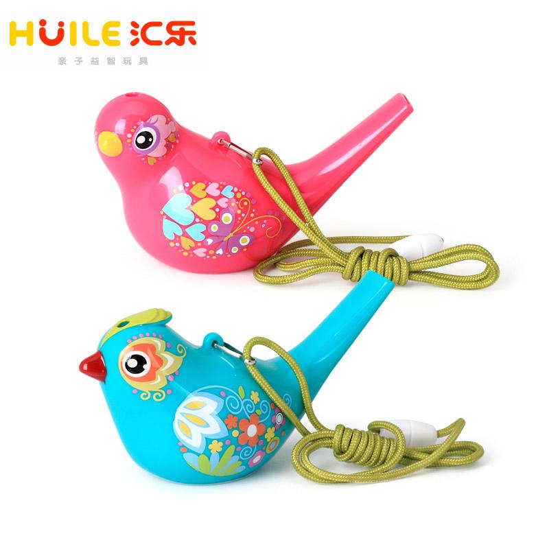 タオバオ仕入れ代行-ibuy99 吹奏乐器 汇乐水鸟音乐小鸟口哨哨子儿童宝宝吹奏喇叭乐器彩绘个月戏水玩具