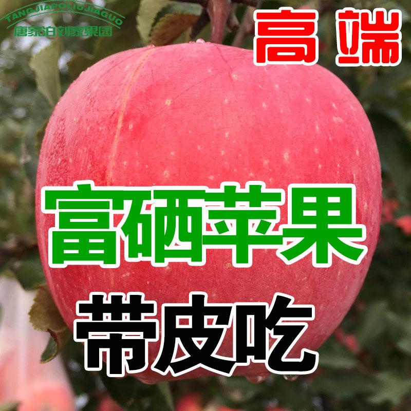 山东烟台红富士富硒平果水果新鲜正宗栖霞冰糖心10斤包邮整箱
