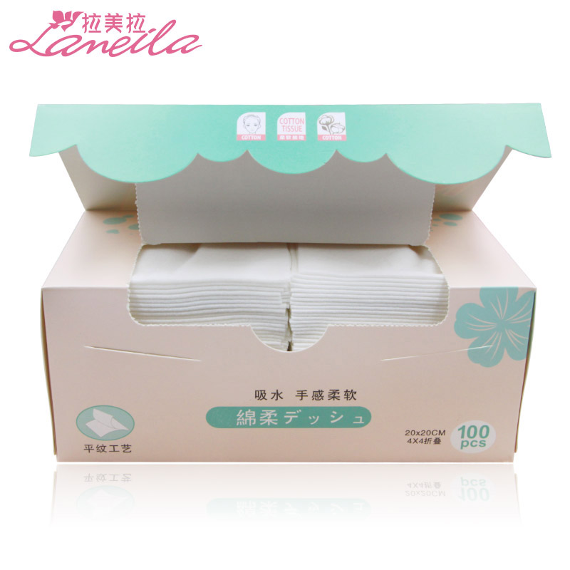 Pure cotton disposable face towel washing face cleaning beauty towel female face towel makeup cotton remover cotton soft towel