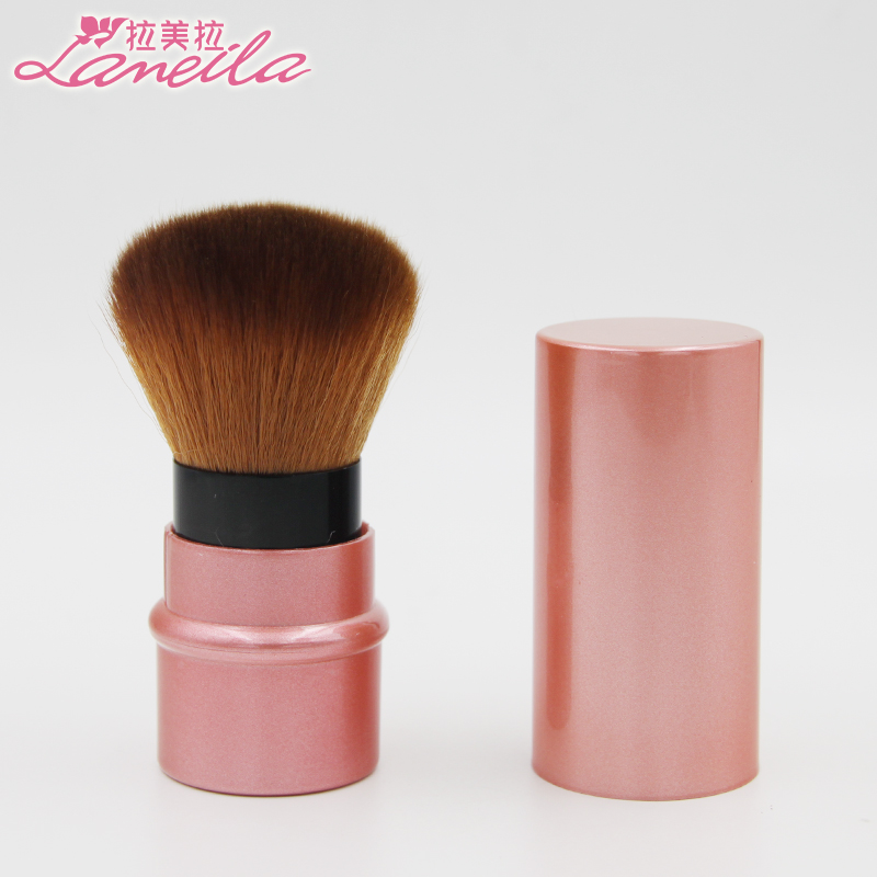 Latin American color stretch brush, honey brush, blush brush powder powder brush, makeup brush soft, not easy to lose hair.