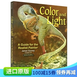 英文原版color and light绘画书籍