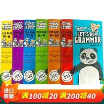 英文原版小学教材 Let's Do Grammar 5-11岁英国小学英语语法练习册6本套装