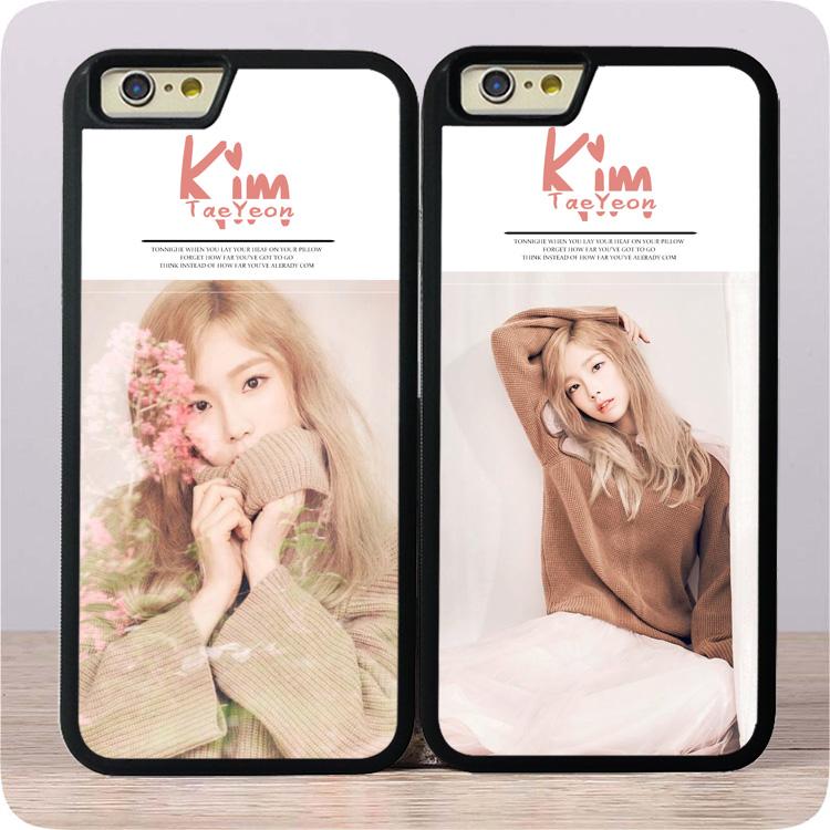 金泰妍新画报少女时代iphoneX/6/6SP手机壳适用保护套玻璃钢化