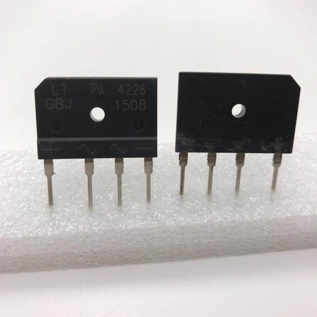 原装新货GBJ1508  GBJ1508-F二极管 - 桥式整流器