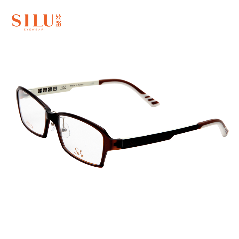 Silk Road square round face mens and womens neutral myopia frame full frame ultra light fashion computer goggles s2723