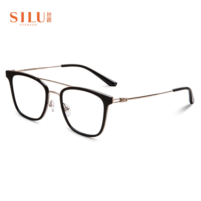 Silk Road spectacle frame frame lens free Korean TR90 frame full frame can be equipped with myopia and versatile fashion s6818
