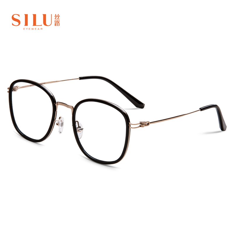 Silk Road eyeglass frame no lens South Korea TR90 frame full frame can be equipped with myopia versatile fashion s6816