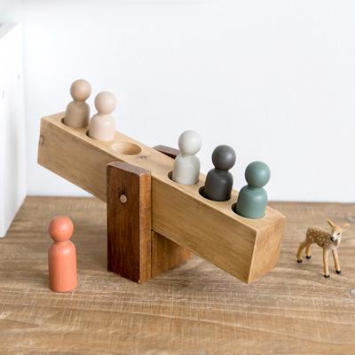 阿楹 儿童房摆件木质zakka小工艺品 创意男生卧室北欧桌面装饰品