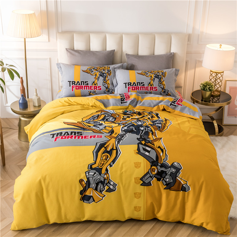 卡通四件套全棉男孩儿童超人床笠能入手吗