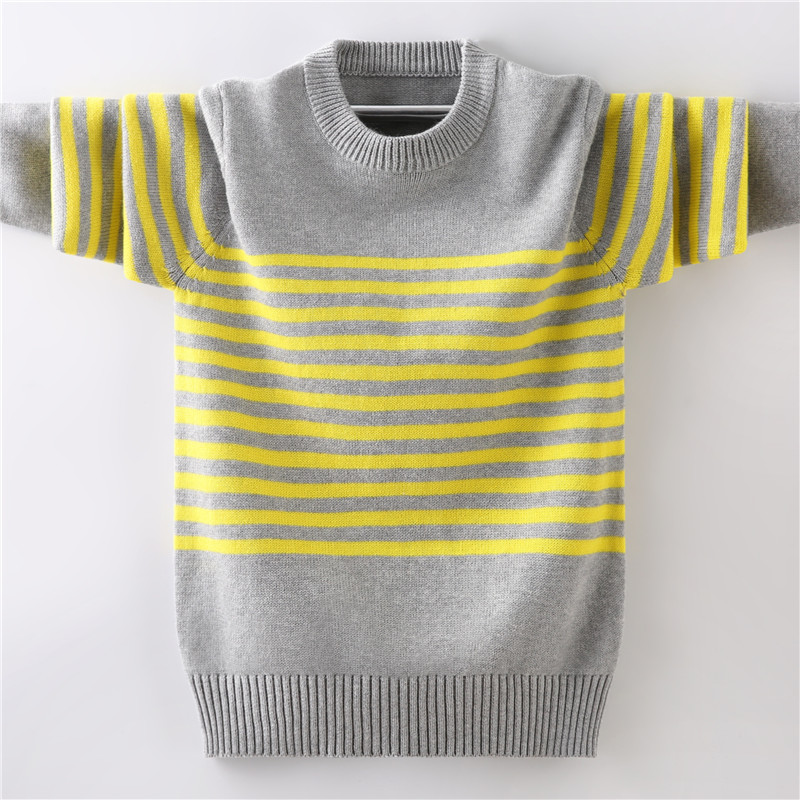 男童薄款2020纯棉针织衫中大童毛衣