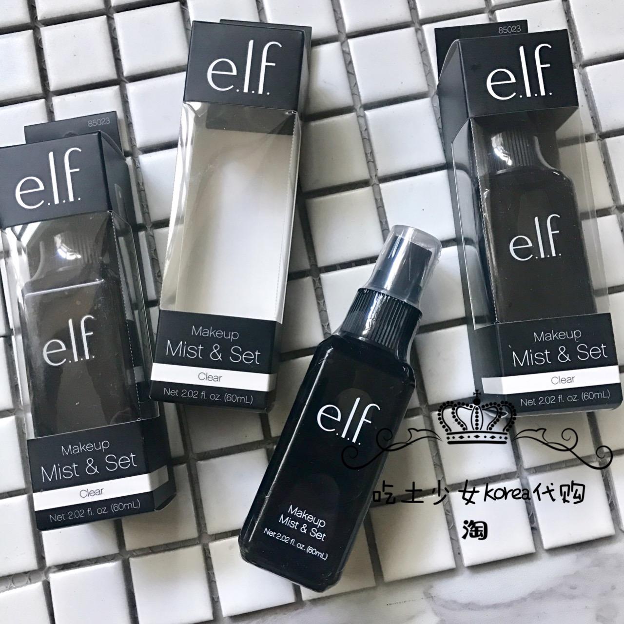 Сейчас в надичии сша ELF фиксированный составить спрей долго долго составить позволять контроля уровня масла 60ml сухой кожа масло пригодны использование elf