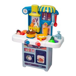 贝恩施儿童厨房玩具套装 过家家仿真厨具做饭煮饭3-6岁女孩宝宝