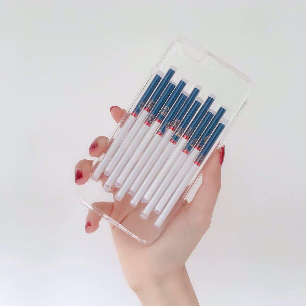 炫赫门滴胶真烟手机壳成品苹果 vivo oppo其他型号联系客服包邮
