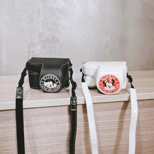相机包女夏xa7佳能200D二代皮套M50适用M100索尼a6400男微单黑卡