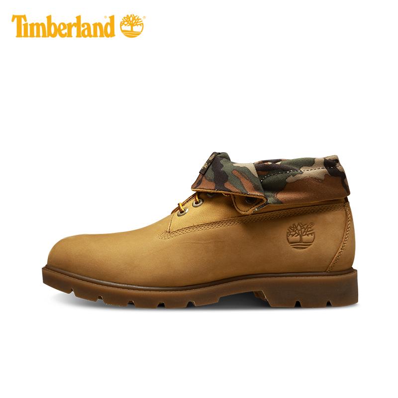【经典款】Timberland/添柏岚男鞋迷彩两穿时尚翻靴|A11FV