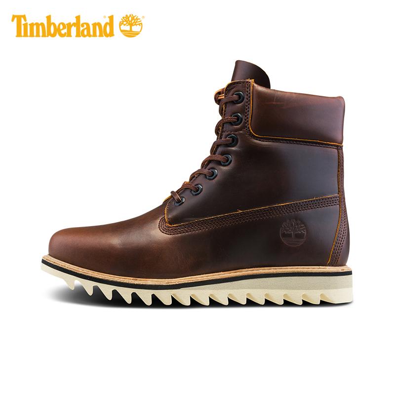 Timberland/添柏岚男鞋潮流户外皮革高帮鞋靴|A1JDY
