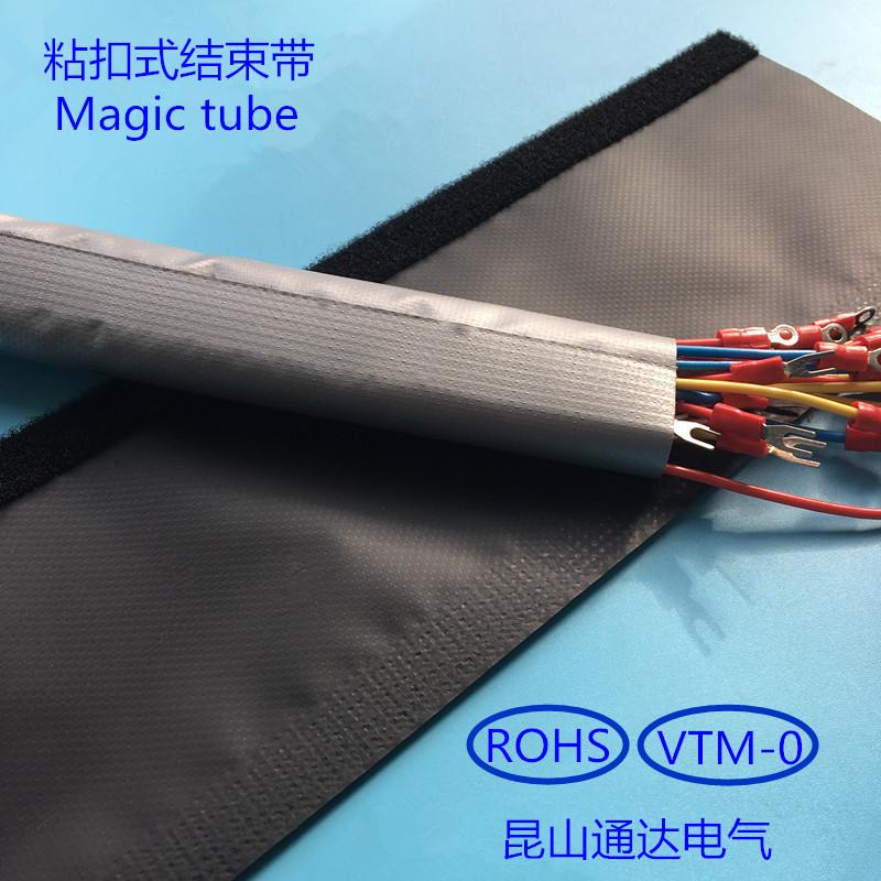 JHTL огнестойкий клейкий конец с помощью клеящего адгезивного кабеля WPC-100 пакет Линейная ткань