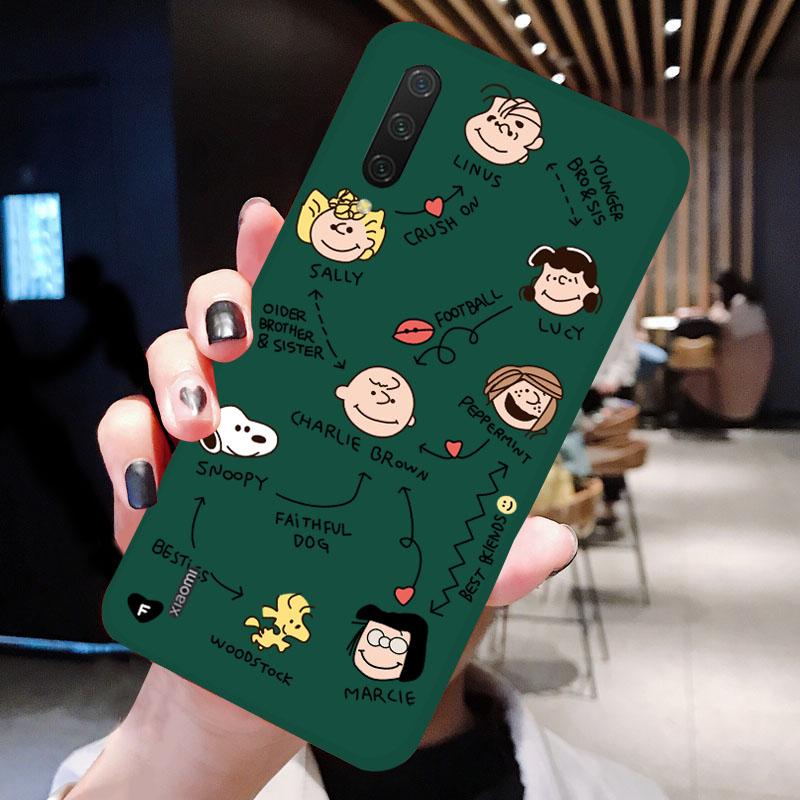 小米CC9手机壳网红ins限量版小米cc9e磨砂硅胶软壳小米9cc保护壳绿色小米不包邮
