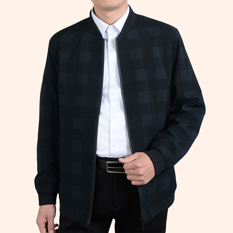 Super thin father jacket in autumn