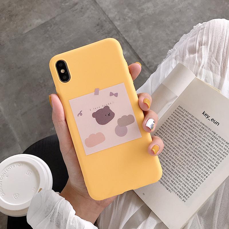 简约卡通面包小熊vivoy93 z1手机壳(非品牌)