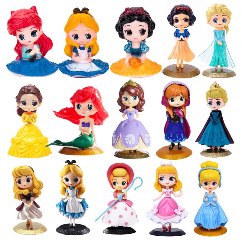 儿童节小公主蛋糕装饰摆件过生日插牌配件情景派对少女宝宝主题