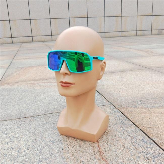炫彩防风山地车o记骑行变色眼镜oo9406自行车运动偏光太阳墨镜