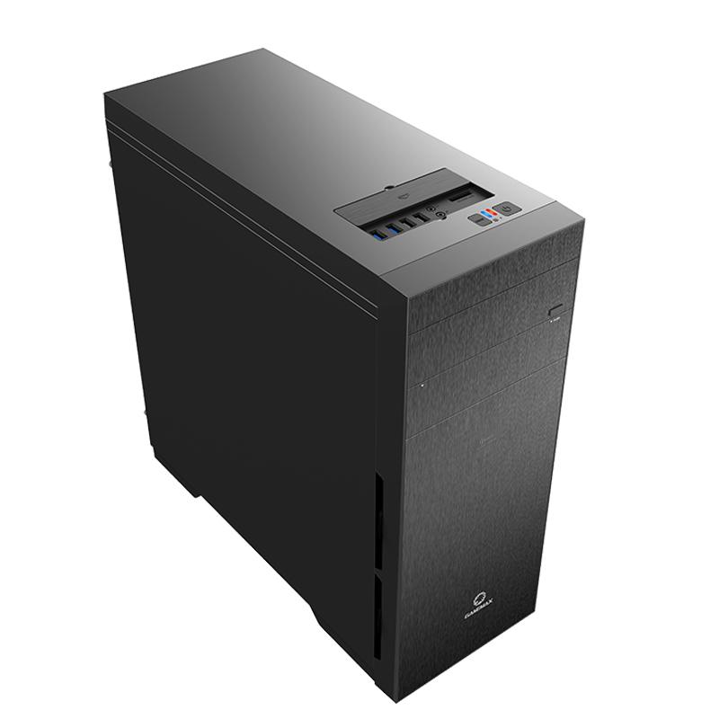游戏帝国 GAMEMAX 轻风健侠 9903 全塔分体式静音电脑主机箱 黑色,可领取10元天猫优惠券