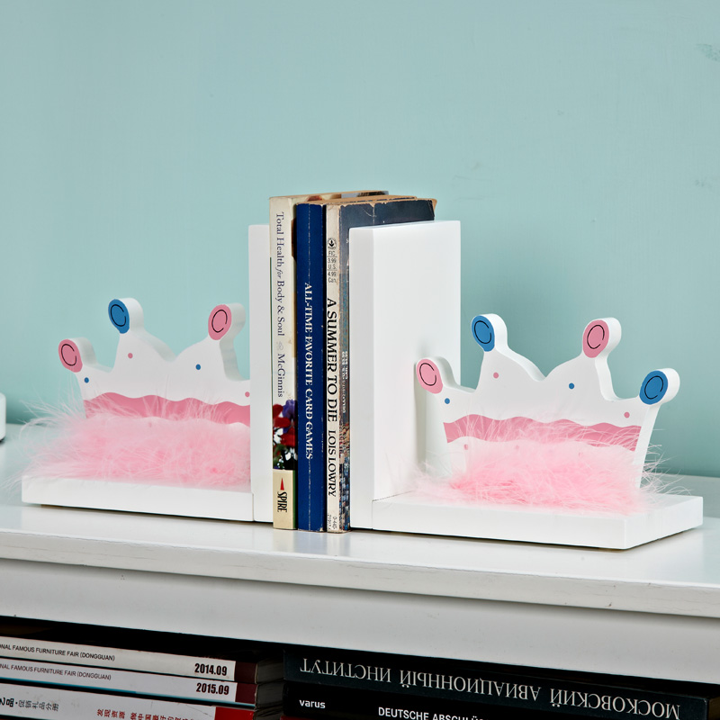 Children's and girls' room decorations, crown books, wedding gifts, girlfriends, wedding study decorations