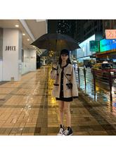 学生装 气质上衣女秋 小香风粗花呢短外套撞色长袖 新款 2019秋季 韩版