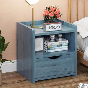简易床头柜简约现代卧室床边小柜子储物柜北欧经济床头收纳置物架