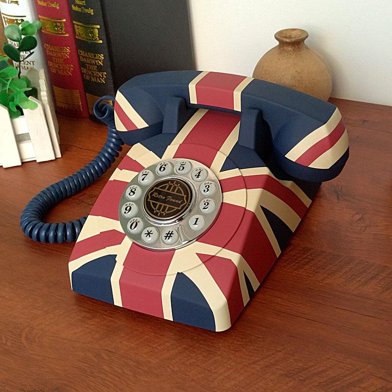 英伦米字旗电话派拉蒙HA1950复古电话机欧式仿古家用办公固话座机