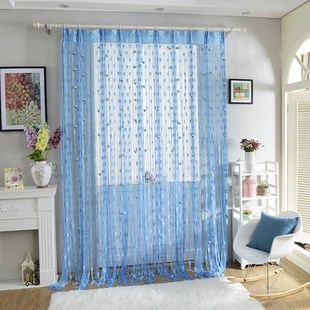 Avoid punch line curtain household partition bedroom door