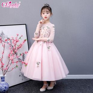 儿童礼服2020新款生日表演公主裙