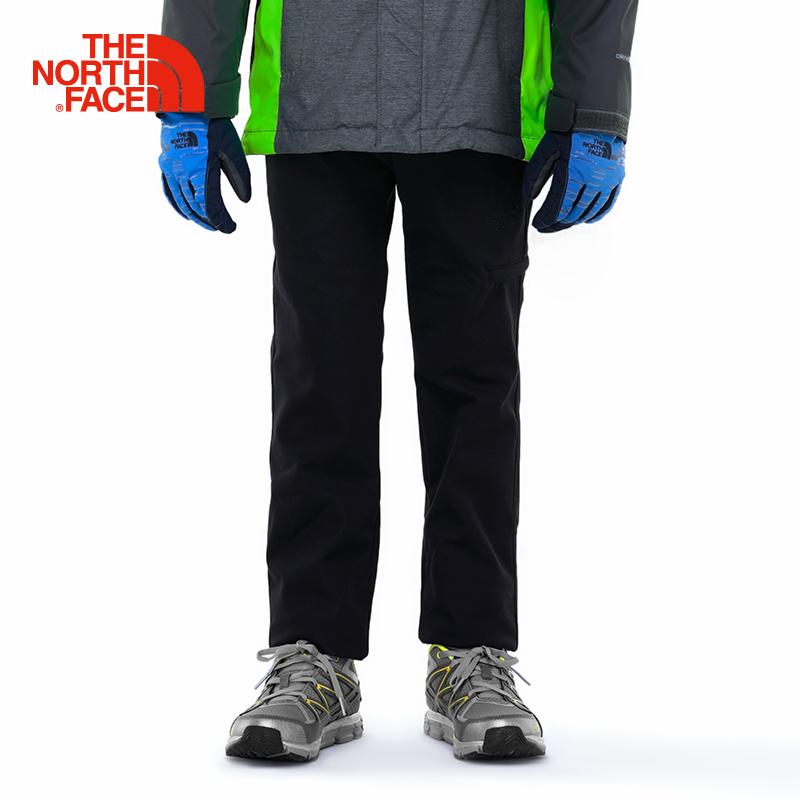 TheNorthFace северная поверхность ребятишки для мужчин ребенок осень и зима ребенок брюки шерсть мягкая оболочка движение брюки |2UBG