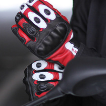 Germany nerve winter breathable motorcycle gloves riding locomotive Racing Opie Ms. Anti-fall Four Seasons Knight