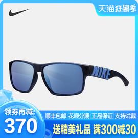 NIKE/耐克 男款运动风墨镜经典方框骑行跑步防UVA太阳眼镜EV0978