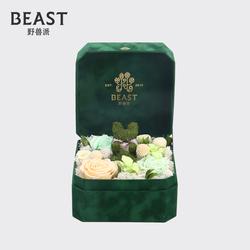 THE BEAST/野兽派 宝贝-永生花盒 苔藓小兔 清新淡雅礼物礼盒