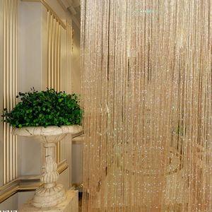 门帘客厅帘子装饰帘吊饰房间韩式线帘服装店简约室内可水洗家用