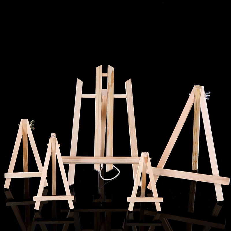 影楼相册托架支架摆放相框支架木质小画架学生桌面油画架折叠台式